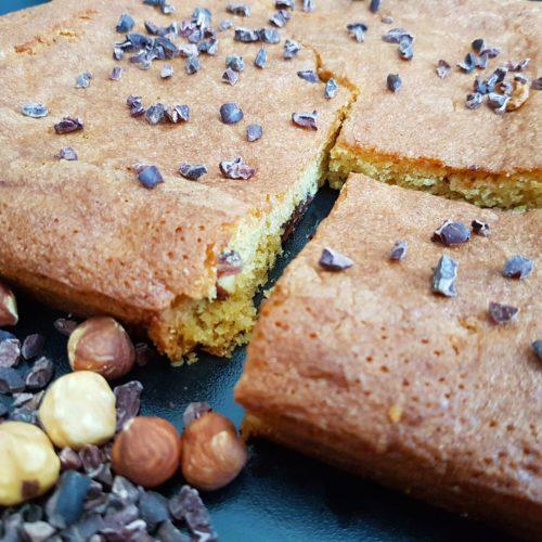 Blondie cake sans gluten